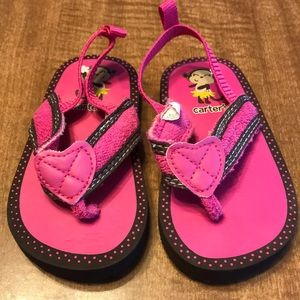 Carters Sandals Toddler Girl Size 4